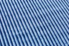 Ski resort slope close-up Stock Photo