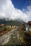 Ski resort, small village Mayrhofen Austria Royalty Free Stock Photo