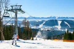 Ski resort Stock Photos