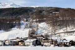 Ski resort of Soelden in Austria Stock Photos