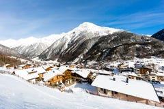 Ski resort Soelden Stock Photography
