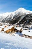 Ski resort Soelden Royalty Free Stock Photos