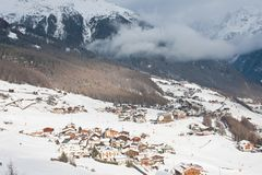Ski resort  Solden. Austria Stock Photos