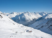 Ski resort of Solden. Austria Royalty Free Stock Photos