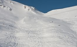 Ski resort of Solden. Austria Stock Images