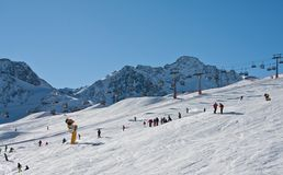 Ski resort  Solden. Austria Stock Photography