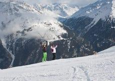 Ski resort  Solden. Austria Stock Photography