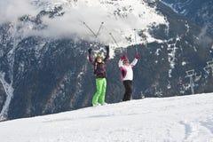 Ski resort  Solden. Austria Royalty Free Stock Photos