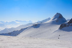 Ski resort in Solen Royalty Free Stock Photography