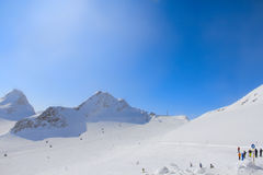 Ski resort in Solen Stock Image