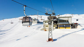 Ski Resort in South Tyrol, Italy Stock Photography