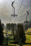 Ski resort in the summer Stock Images