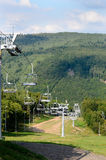 Ski resort in the  summer Stock Image