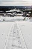 Ski resort Sun valley. Royalty Free Stock Image