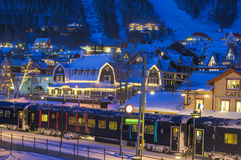 Ski resort in Sweden Royalty Free Stock Photo