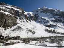 Ski resort Tignes, Val d'Isere Stock Photography