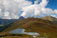 Ski resort in Tyrolean Alps in autumn, Austria Stock Photos