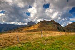 Ski resort in Tyrolean Alps in autumn, Austria Stock Photography