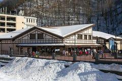 Ski resort in the Valley Rosa Khutor. Sochi, Russia Royalty Free Stock Image