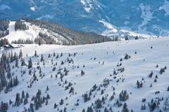 Ski Resort Zell Am See Stock Images