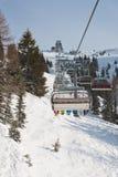 Ski resort Zell am See. Austria. Mountains under snow. Ski resort Zell am See. Austria Royalty Free Stock Photo