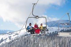 Ski resort Zell am See. Austria. Lift. Ski resort Zell am See. Austria Royalty Free Stock Images