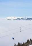 Ski resort Zell am See. Austria Royalty Free Stock Photography