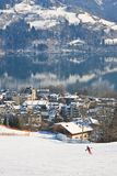 Ski resort Zell am See. Austria Stock Photography
