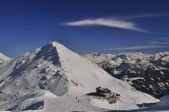 Ski Resort in Zillertal Stock Image