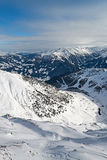 Ski resort Zillertal - Tirol, Austria. Stock Images