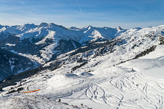 Ski resort Zillertal - Tirol, Austria. Stock Photo