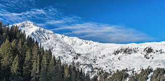 Ski resort Zillertal - Tirol, Austria. Stock Image
