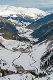 Ski resort Zillertal - Tirol, Austria. Stock Images