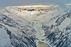 Ski resort Zillertal - Tirol, Austria. Stock Photography