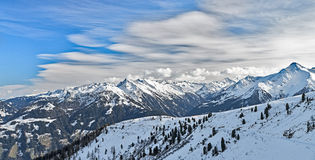 Ski resort Zillertal - Tirol, Austria. Stock Photos