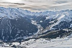 Ski resort Zillertal - Tirol, Austria. Stock Photography