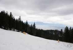 Ski in Romania Royalty Free Stock Images