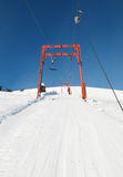 Ski rope tow Stock Photo