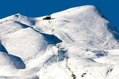 Ski Runs Stock Image