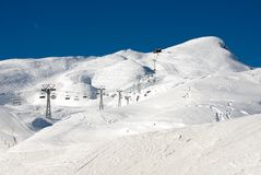 Ski Runs Stock Photos