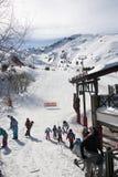 Ski school Royalty Free Stock Photos