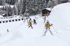 Ski school Stock Image