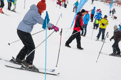 Ski school Stock Photography