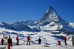 Ski season Stock Photography