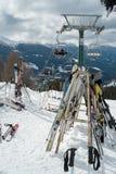 Ski. royalty free stock photos