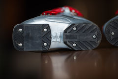 Ski shoe Stock Images