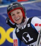 SKI : Slalom de géant de Lienz Image stock