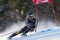 SKI : Slalom de géant de Lienz Photo stock