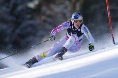 SKI : Slalom de géant de Lienz Photos stock