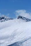Ski sleep-Rila-MUSALA Stock Foto's